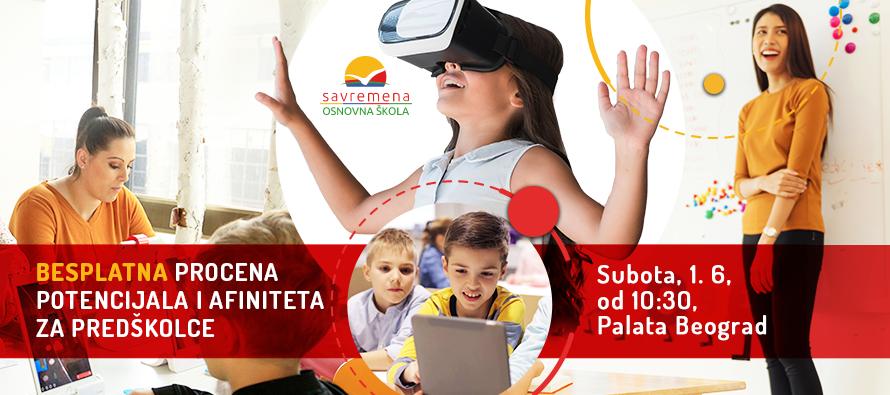 Besplatna procena potencijala i talenata za decu od 5 do 7 godina u Savremenoj osnovnoj školi