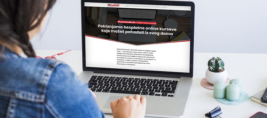 10.000 LJUDI OD KUĆE BESPLATNO UČI WORDPRESS NA ITACADEMY! Ove nedelje možete da se prijavite za online kurs engleskog jezika