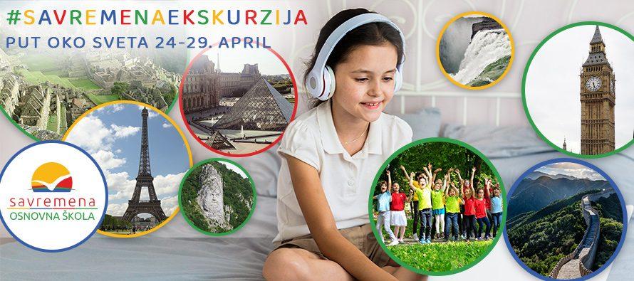 Savremena onlajn-ekskurzija: Nezaboravni put oko sveta za sve učenike u Srbiji
