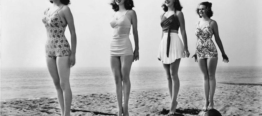 Istorija ženskih kupaćih kostima