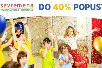 Do 40% popusta: Savremena osnovna škola i gimnazija vam poklanjaju za svoj rođendan