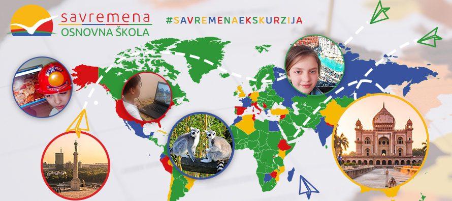 Na Savremenoj ekskurziji učestvovalo više od 6.000 školaraca iz Srbije i regiona