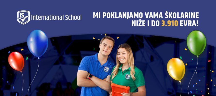Povlašćene cene upisa: International School za Dan škole poklanja školarine manje i do 3.910 evra!