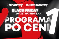 Velika Black Friday akcija na ITAcademy i BusinessAcademy