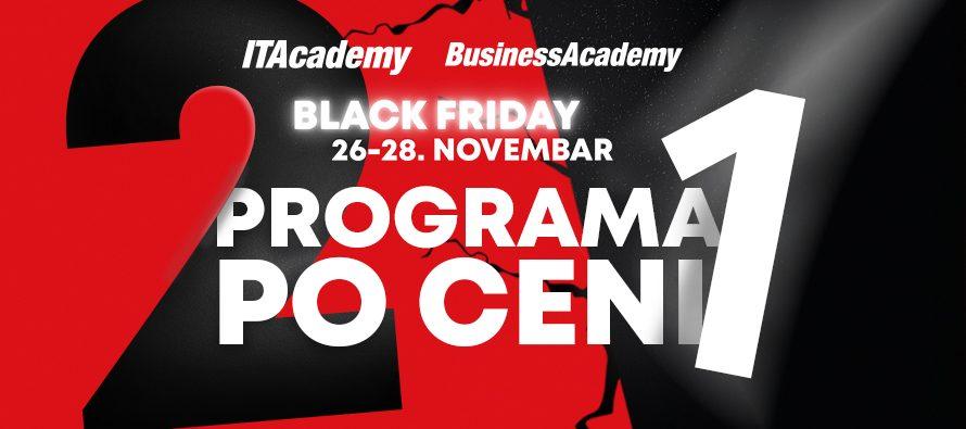 Velika Black Friday akcija na ITAcademy i BusinessAcademy