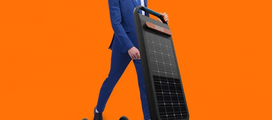 "Električni romobil koji se puni dok ""trčite"" po njemu"