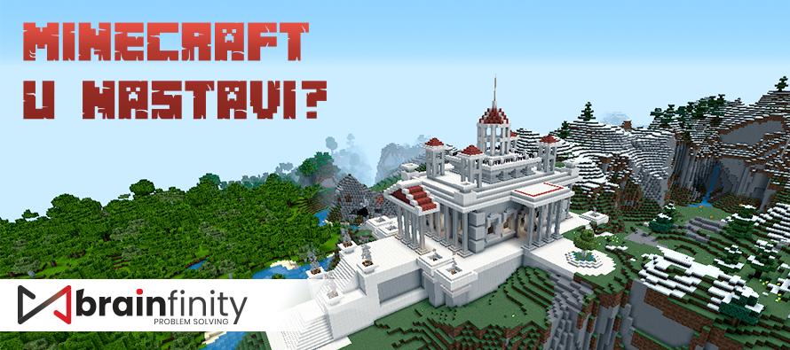 """Samo na online nedelji problem solvinga: Otkrijte kako deca uče kroz popularnu igricu """"Minecraft"""""""