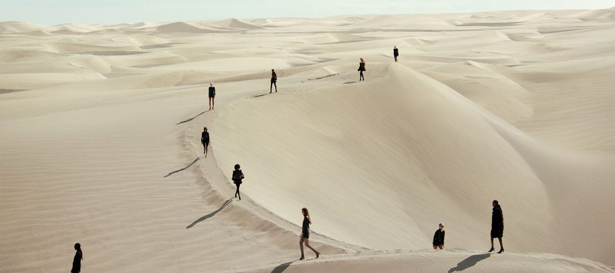 Modna revija u pustinji