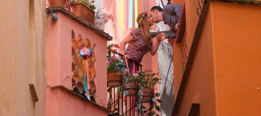 Aleja poljubaca – Meksiko