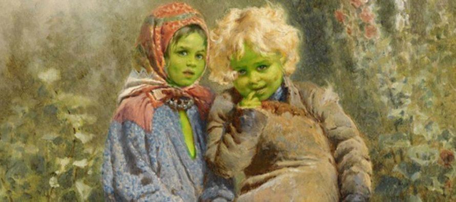 Misteriozna zelena deca iz Vulpita